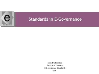 Standards in E-Governance