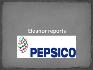 Eleanor reports
