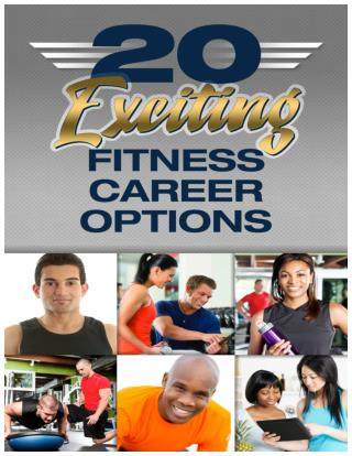 20 Amazing Fitness Career Options