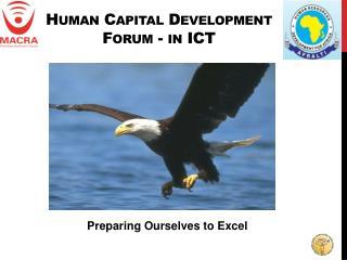 Human Capital Development Forum - in ICT