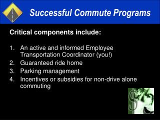 Successful Commute Programs