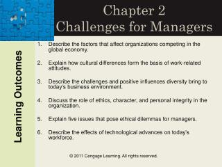 Chapter 2 Challenges for Managers