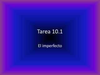 Tarea 10.1