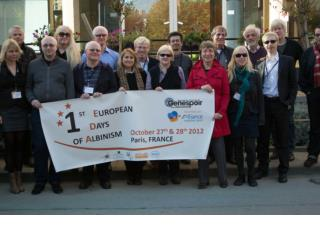 1th European Days  of Albinism , okt 2012 Scientific  Confererence