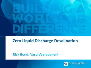 Zero Liquid Discharge Desalination