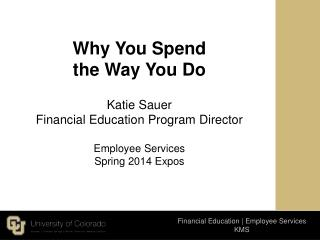 Financial Education | Employee Services  KMS