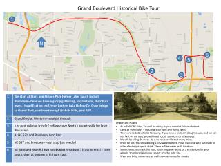 Grand Boulevard Historical Bike Tour
