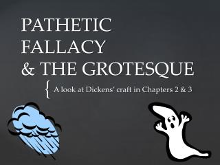 PATHETIC  FALLACY  & THE GROTESQUE