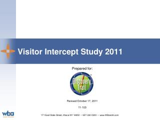 Visitor Intercept Study 2011