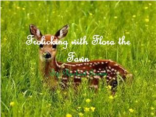 Frolicking with  Flora the Fawn