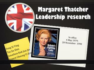 Margaret Thatcher Leadership research