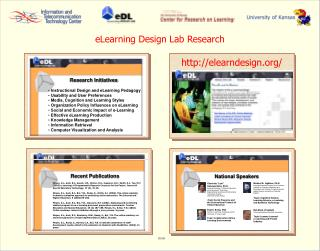 eLearning Design Lab Research