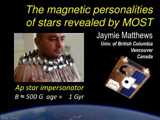 The  magnetic personalities of stars revealed by  MOST
