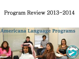 Program Review 2013-2014