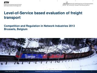 Competition and Regulation in Network Industries  2013