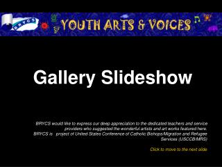 Gallery Slideshow