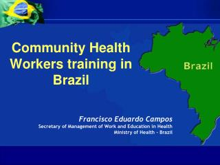 Community Health Workers training in Brazil