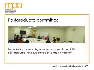 Postgraduate committee