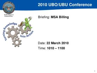 Briefing: MSA Billing