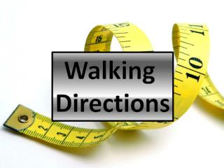 Walking  Directions