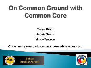On Common Ground with Common Core