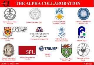 THE ALPHA COLLABORATION