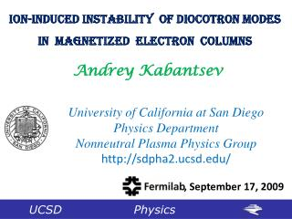 Ion-Induced Instability  of Diocotron Modes In  Magnetized  Electron  Columns