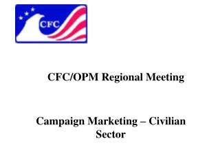 CFC/OPM Regional Meeting