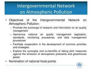 Intergovernmental Network  on Atmospheric Pollution