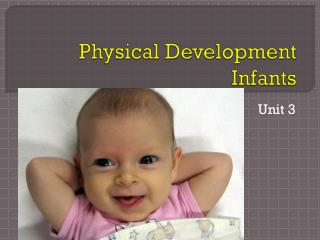 Physical Development Infants