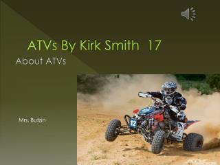 ATVs By Kirk Smith  17