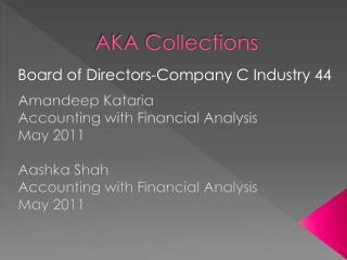AKA Collections