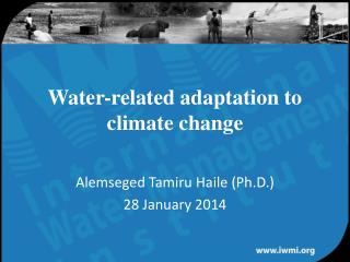 Water-related adaptation to climate change