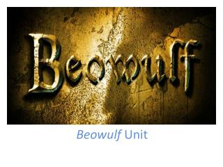 Beowulf  Unit