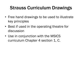 Strauss Curriculum Drawings