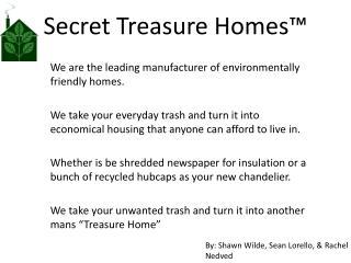 Secret Treasure Homes ™