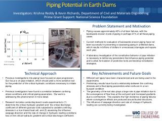 Piping Potential in Earth Dams