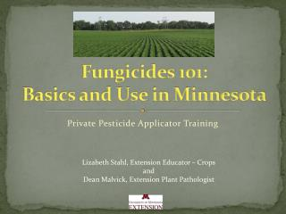 Fungicides 101: Basics and Use in Minnesota