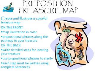ppt preposition treasure map powerpoint presentation id 2167618