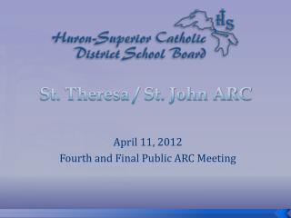 St. Theresa / St. John ARC
