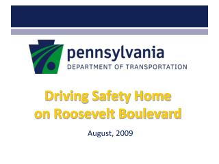 Driving Safety Home on Roosevelt Boulevard