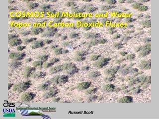 COSMOS Soil Moisture  and Water Vapor and Carbon Dioxide Fluxes