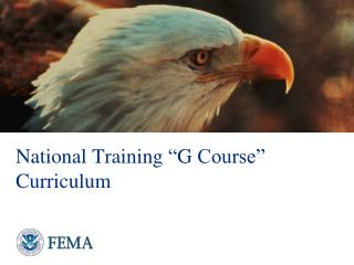 "National Training  "" G  Course"" Curriculum"