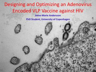 Designing and Optimizing an Adenovirus Encoded VLP Vaccine against HIV