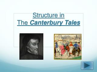 Structure in  The  Canterbury Tales