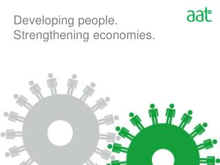 Developing people. Strengthening economies.