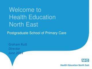 Welcome to  Health Education North East
