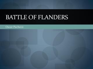 Battle of Flanders