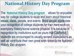 California National History Day