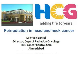 Reirradiation  in head and neck cancer